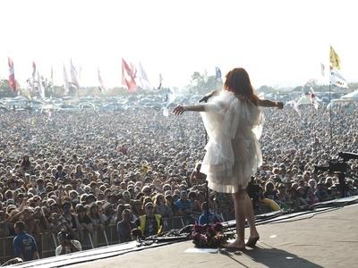 Florence and The Machine. Glastonbury 2010.
