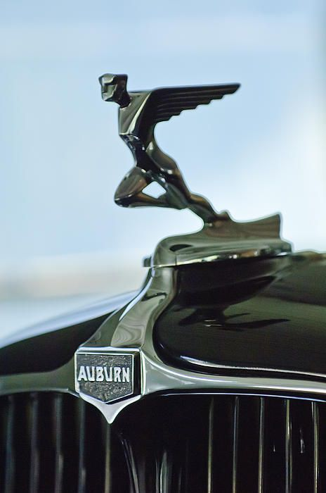 Auburn hood ornament - Jill Reger..Re-pin brought to you by agents of #carinsurance at #houseofinsurance in Eugene, Oregon