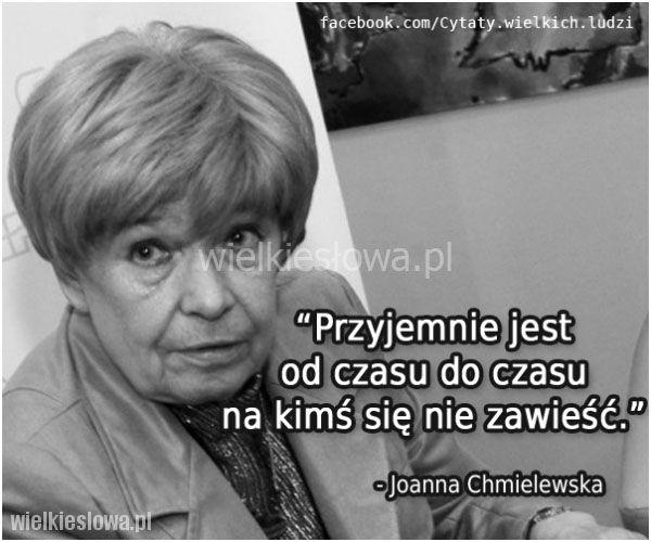 Przyjemnie jest od czasu do czasu... #Chmielewska-Joanna,  #Życie