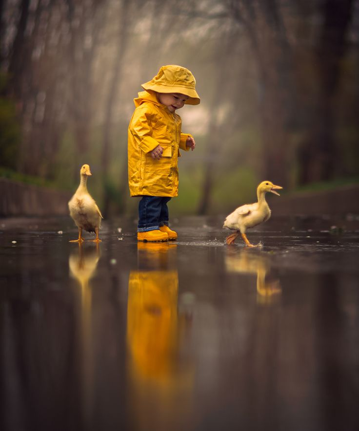 Rainy Day Friends by Jake Olson