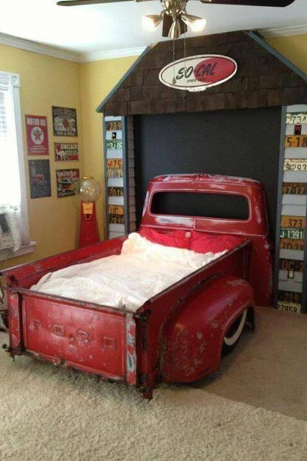 Cool pickup truck bed