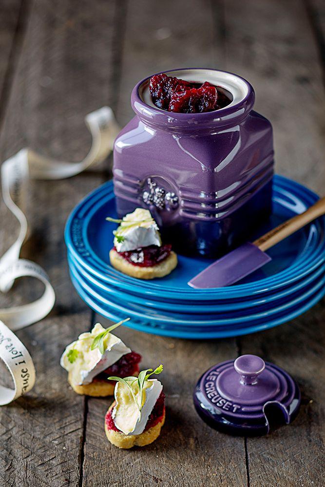 Le Creuset Berry Jam Jar // Beetroot & Orange Chutney
