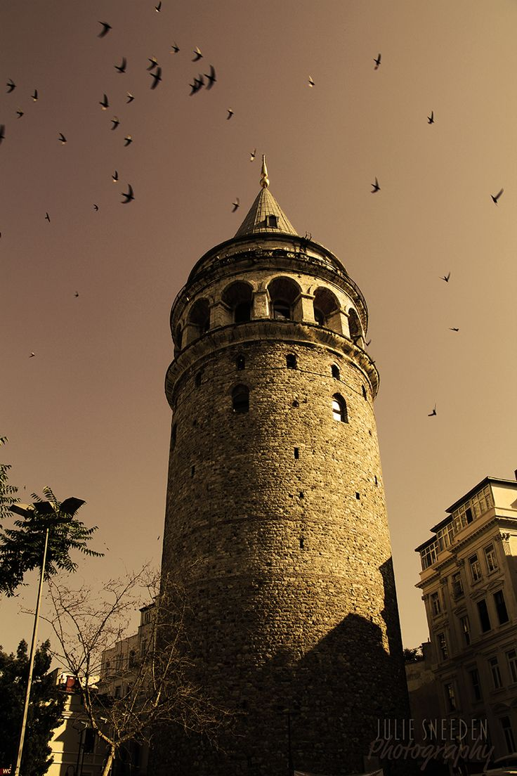 Galata Tower in Istanbul, Turkey - Photo by Julie Sneeden