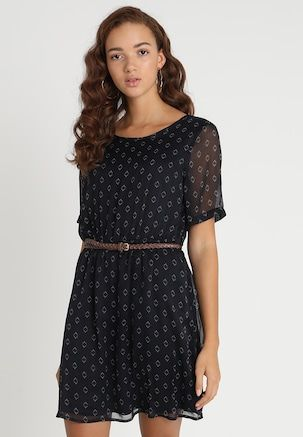94d6bead2476 VMSALLIE BELT DRESS - Vestito estivo - black sallie   Zalando.it ...