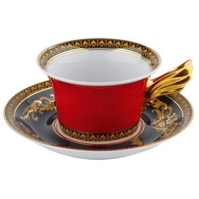Хорошие утро начинается с ароматного кофе, который пьют из эстетичной чашечки.☕️😊  ЧАЙНАЯ ПАРА VERSACE ROSENTHAL «MEDUSA» Джанни Версаче - самый дерзкий, яркий и необычный модельер нашего времени. По сей день плоды творчества Дома Versace являются одними из самых заметных в мире моды. Сейчас стиль Версаче можно встретить и в мебели, и в парфюмерии, и в аксессуарах, и, конечно же, в посуде.  Дом моды Versace совместно с лидером в области элитной посуды - фирмой Rosenthal - разработали…