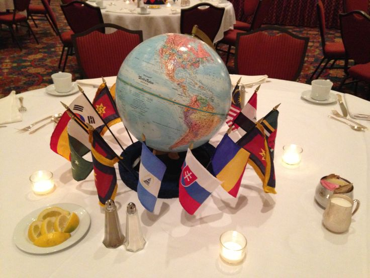 8 best images about international dinner on pinterest us for International theme decor