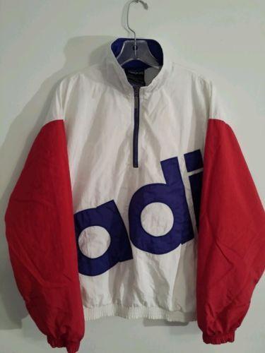 Vintage Adidas Hip Hop jacket windreaker Run DMC by RETRO4LESS