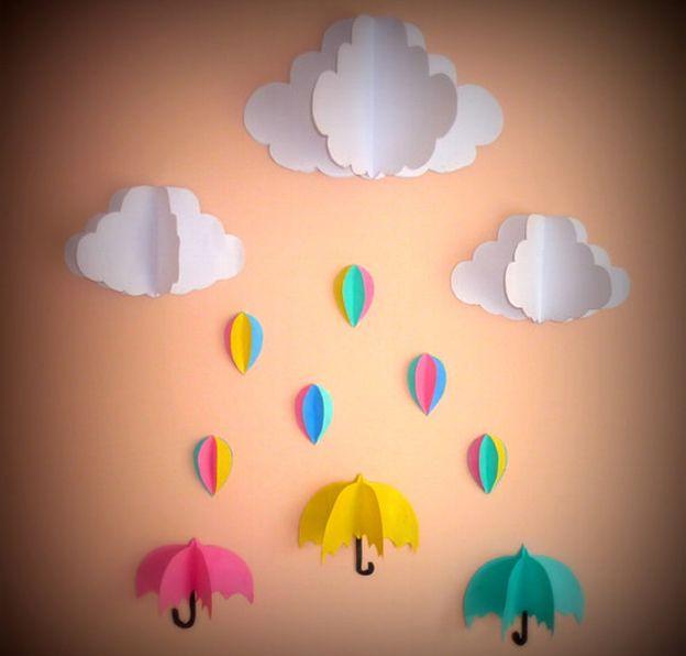 mobile de nuvem para quarto de bebe12 dicas pinterest quartos e m biles. Black Bedroom Furniture Sets. Home Design Ideas