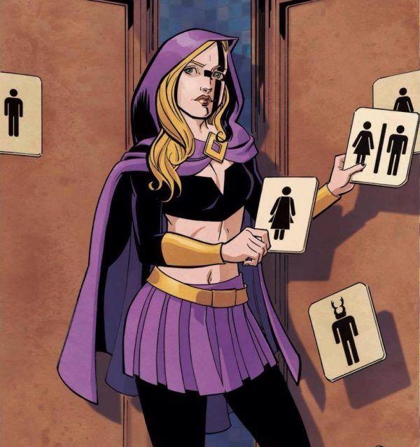Travestis e Transexuais têm a sua Super-Heroína Trans: http://mundot-girl.blogspot.com.br/2016/10/travestis-e-transexuais-tem-sua-super.html  ⚧ Foto: Aftershock Comics