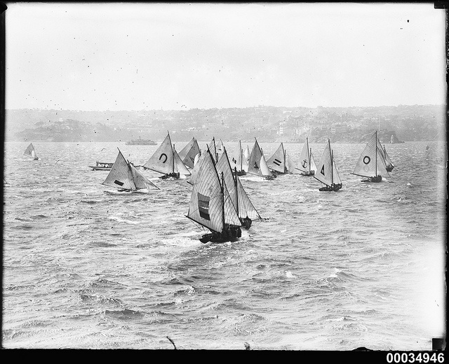 Numerous yachts with Cremorne Point in the background, 1910-1939 | Flickr - Photo Sharing!
