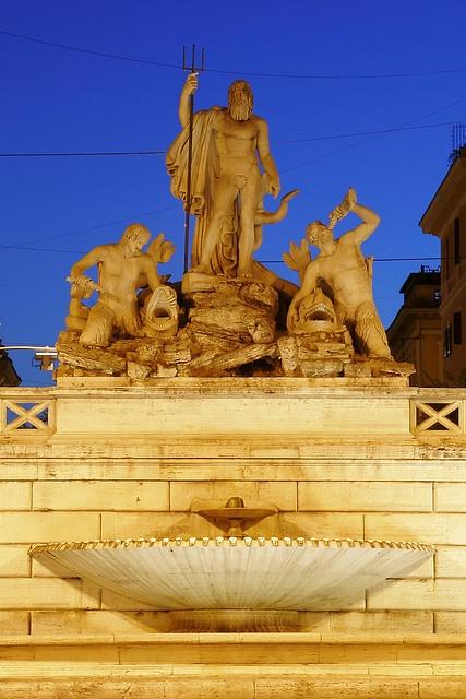 Fontana del Nettuno.  Roma