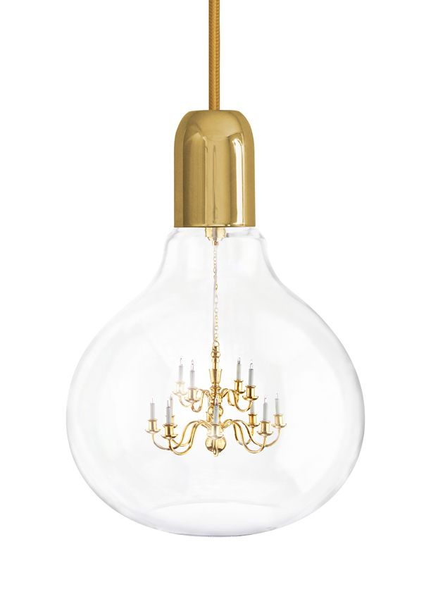 Mineheart - Eccentric British Design - Gold King Edison Pendant Lamp, £504.00 (http://www.mineheart.com/gold-king-edison-pendant-lamp/)