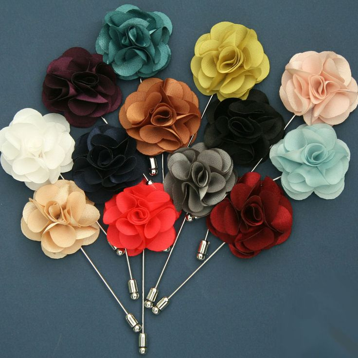 HANDMADE chic Boutonniere Flower Lapel Pin Button Mens Fashion Accessories /SX #Fashion #Style #Deal