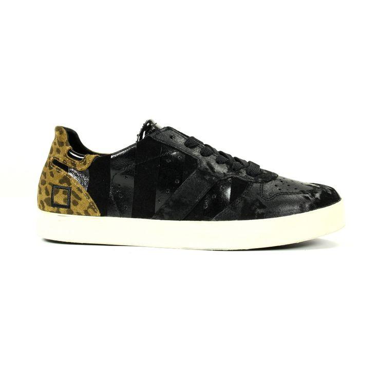 D.a.t.e. Sneakers & gympen A251 Zwart