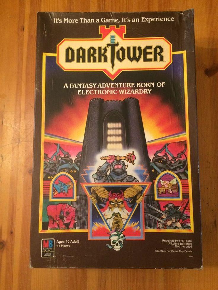 Vintage Dark Tower Board Game 1981 Milton Bradley 100% Complete & Working #MiltonBradley