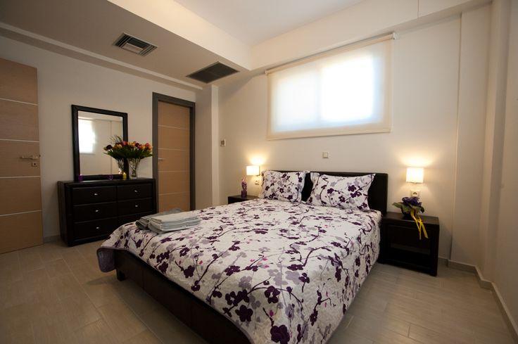 Bedroom in Crete (Rethymnon, Greece) http://www.villasincrete.com/index.php/Villas-Crete/1/128/mid=42,act=show,id=243