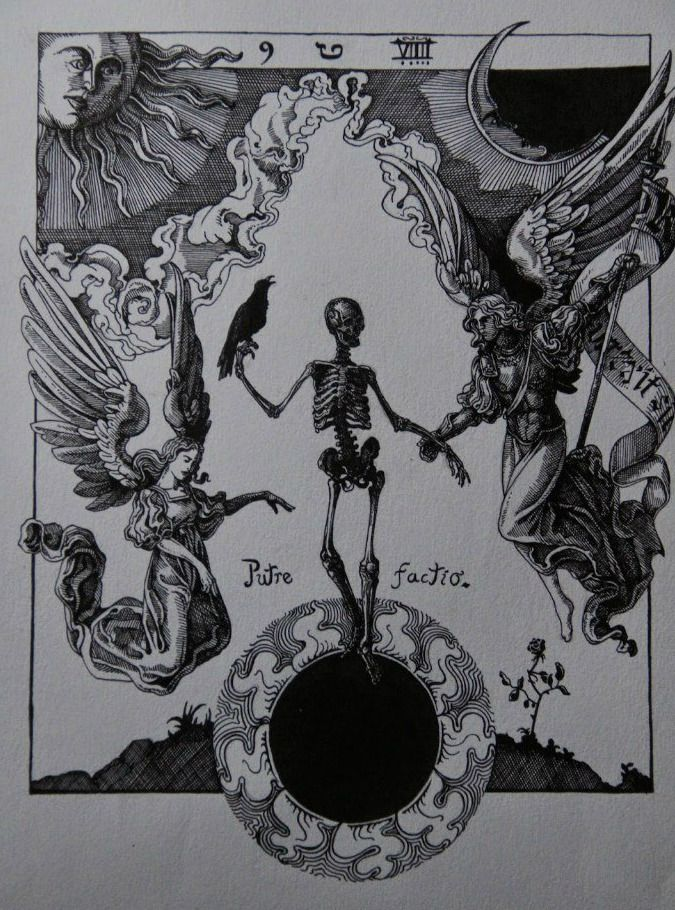 "Jose Gabriel Alegria Sabogal - Putrefactio (Sol Niger), ""Handbook of ..."