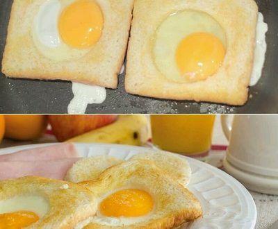 Kahvaltılık Ekmek Dilimli Omlet - Kolay Yemek Tarifleri