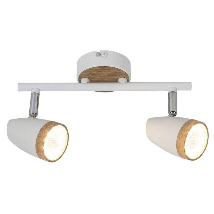 Rábalux Karen 5565 Mennyezeti lámpa fehér fa LED 2 x 4W