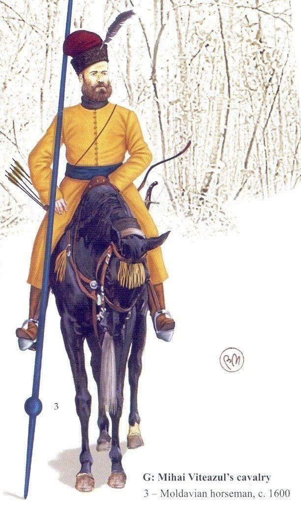 Moldavian horseman, c. 1600