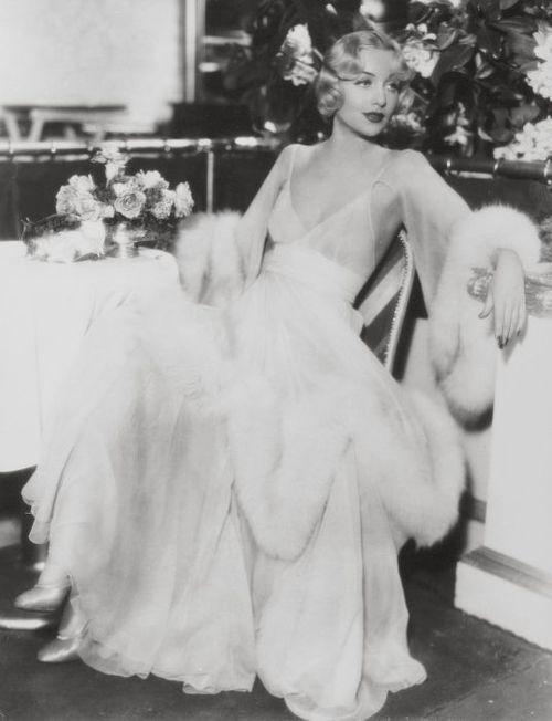 Carole Lombard, 1930's Masha's nightgown/peignoir