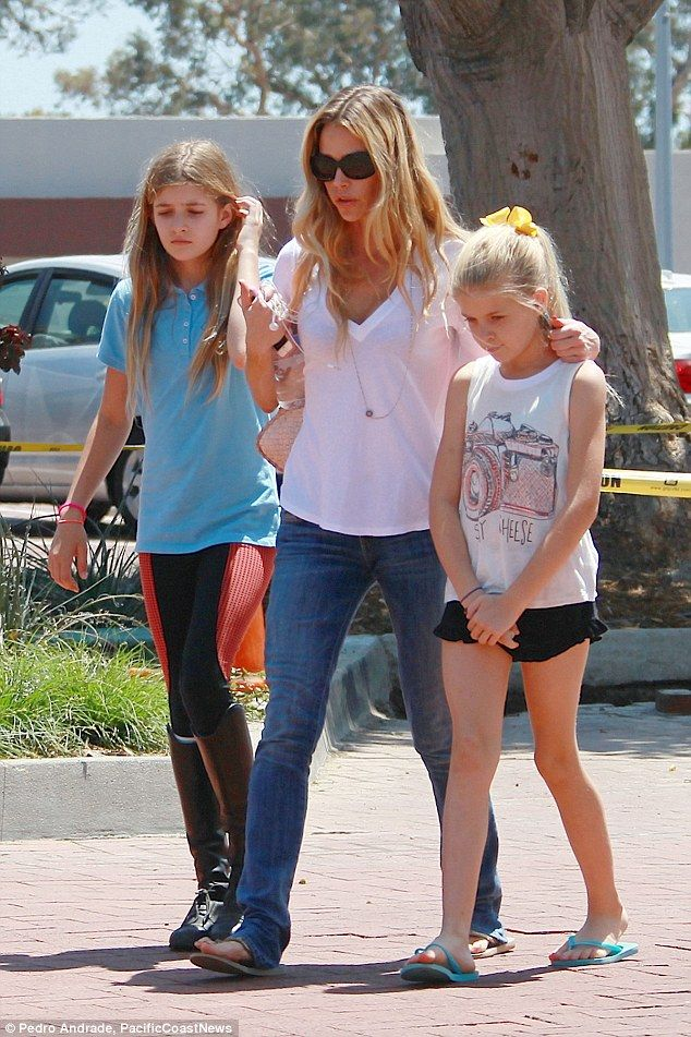 Am I bothered? Denise Richards stepped out on Monday following her ex husband Charlie Shee...