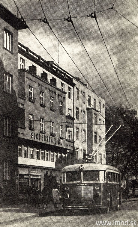 Trolejbus na Grösslingovej ulici :-)