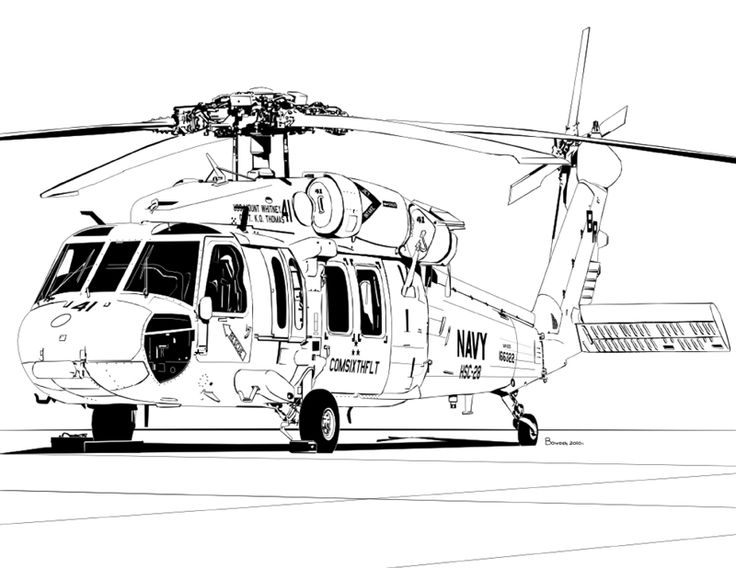 COMSIXTHFLT Ride MH60S Knighthawk (With images