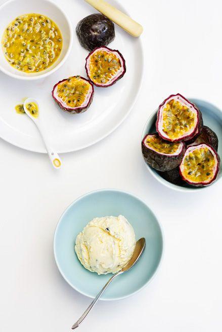 Grenadilla ice cream - yummy south african dessert