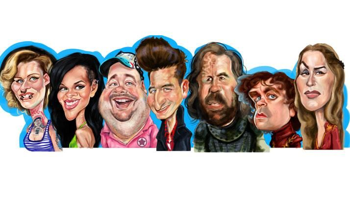 Support Tuncay Erol creating Caricatures and Character Designs