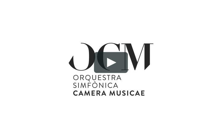 OCM - Orquestra Simfònica CAmera Musicae #identity #logo #logodesign #identitydesign #branding #brandingdesign
