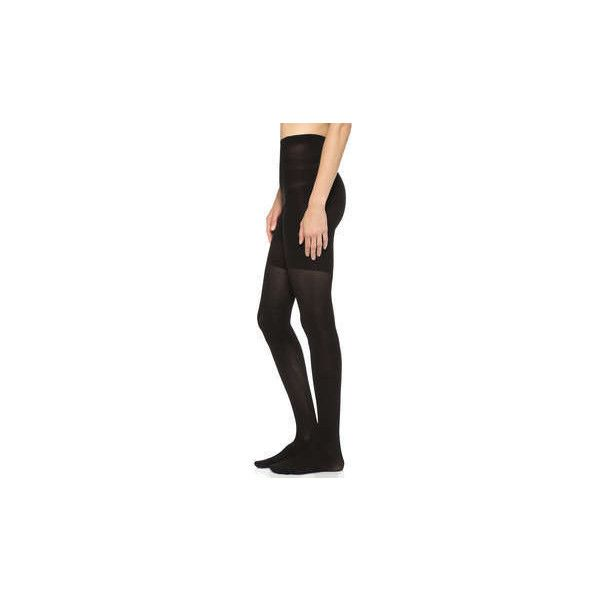 SPANX Ribbed Tight End Tights ($32) ❤ liked on Polyvore featuring intimates, hosiery, tights, nylon stockings, ribbed pantyhose, nylon hosiery, spanx tights and ribbed tights
