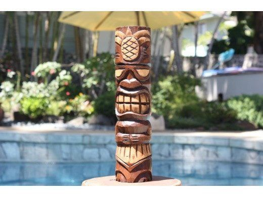 Hospitality Tiki Totem 12 Quot Antique Finish Tiki Totems