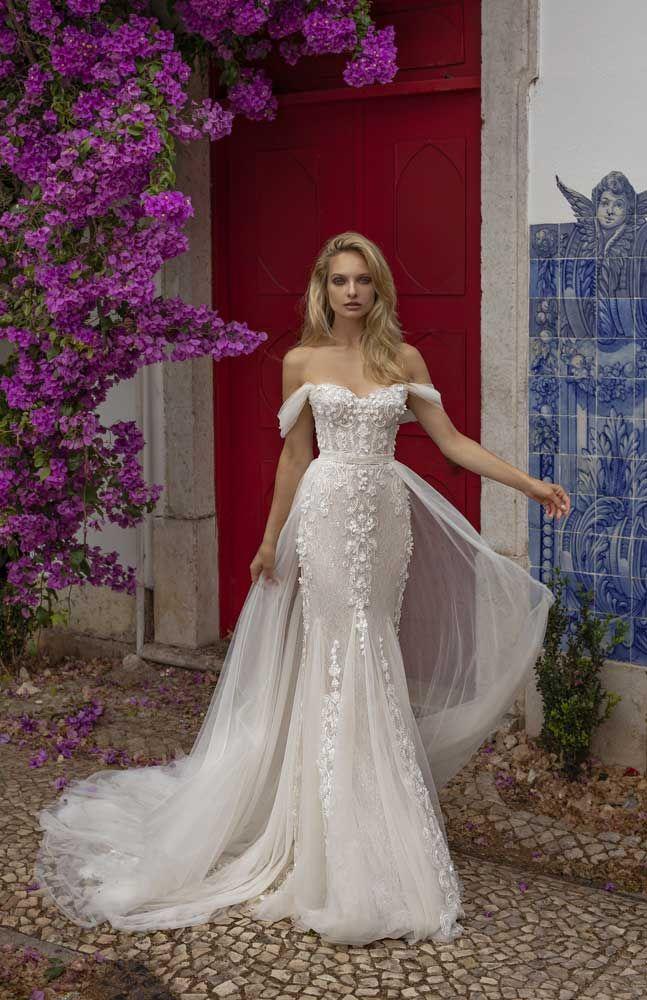 57 Stunning Wedding Dresses With Detachable Skirts Detachable