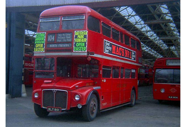 RML 901 (WLT 901). Finchley Depot