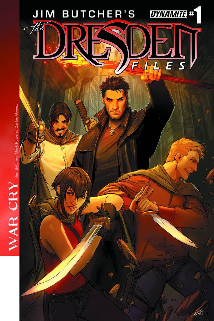 STK641696 ImageGraphics Novels, Graphic Novels, Jim Butcher, Comics Book, Butcher Dresden, Wars Cry, Dresden Files, File Graphics, Dynamite Entertainment