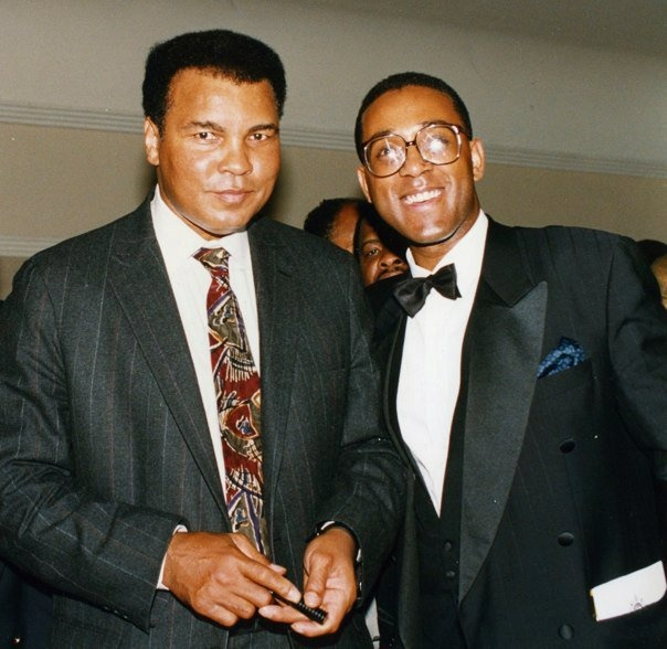 Muhammad Ali and Michael Vincent.