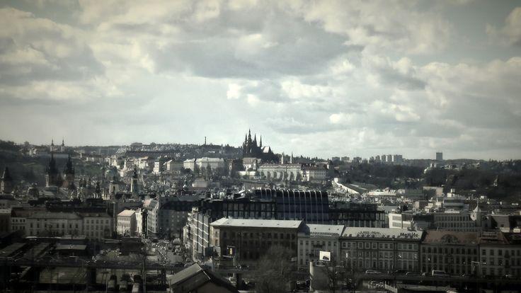 https://flic.kr/p/FE9k6m | Praha z vrchu Vítkov | Pohled z vrchu Vítkov, Prague