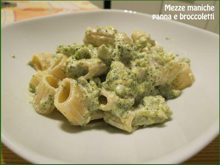Mezze maniche panna e broccoletti