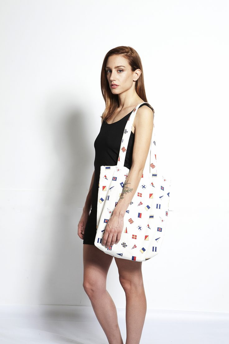 FLAG Tote Bag by MOHXA