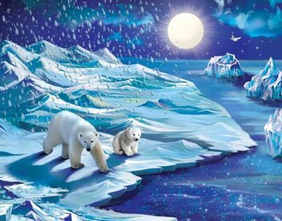 "Children Book ""Seasons of weather"""