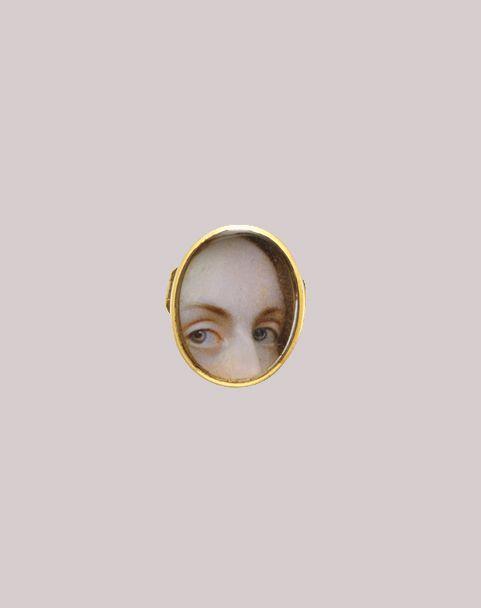Lover's Eye  Lover's Eyes, ca. 1840. American. Watercolor on ivory. The Metropolitan Museum of Art, New York