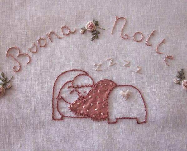 Elizabeth hand embroidery: Still a small application