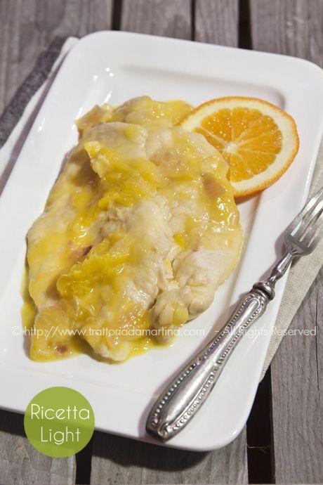 Petto di pollo all'arancia - Trattoria da Martina - cucina tradizionale, regionale ed etnica