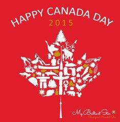 Have fun on Canada´s Birthday Canada Day is the day we all think about how far we've come. Congratulations to you, Canada! And a very happy Canada Day to one and all! What Exactly Is Canada Day? On July 1, 1867, the nation was officially born when the Constitution Act joined three provinces into one country. #mybrilliantstar #herrnhutstar #moravianstar #canadaday
