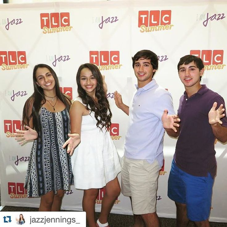Go to tlc.com/jazzhands for more info!! #Repost @jazzjennings_ ・・・ I had a great time at Outfest today! Share your Jazz Hands photos to support transgender youth everywhere all season long during I Am Jazz on Facebook, Twitter, and Instagram using #JazzHands. @TLC will donate $1.00 per photo shared to the TransKids Purple Rainbow Foundation.