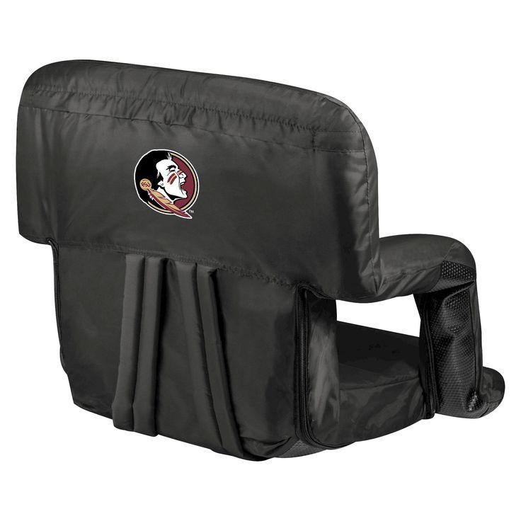 Portable Stadium Seats NCAA Florida State Seminoles Black