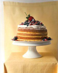 1-2-3-4 Lemon Cake - Martha Stewart Recipes
