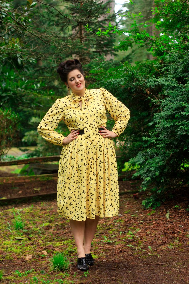 eShakti sent me this dress for review. All opinions are my own! Fly Away Well, that was an unexpected week off! The 1950's Housewife Project wore me out so much that I didn't have any energy left to blog, and while all of the Housewife videos are up on YouTube, I still have two outfits …