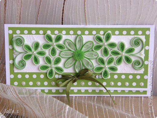 Упаковка День рождения Свадьба Квиллинг Конвертики-повторюшки Бумага Картон фото 2